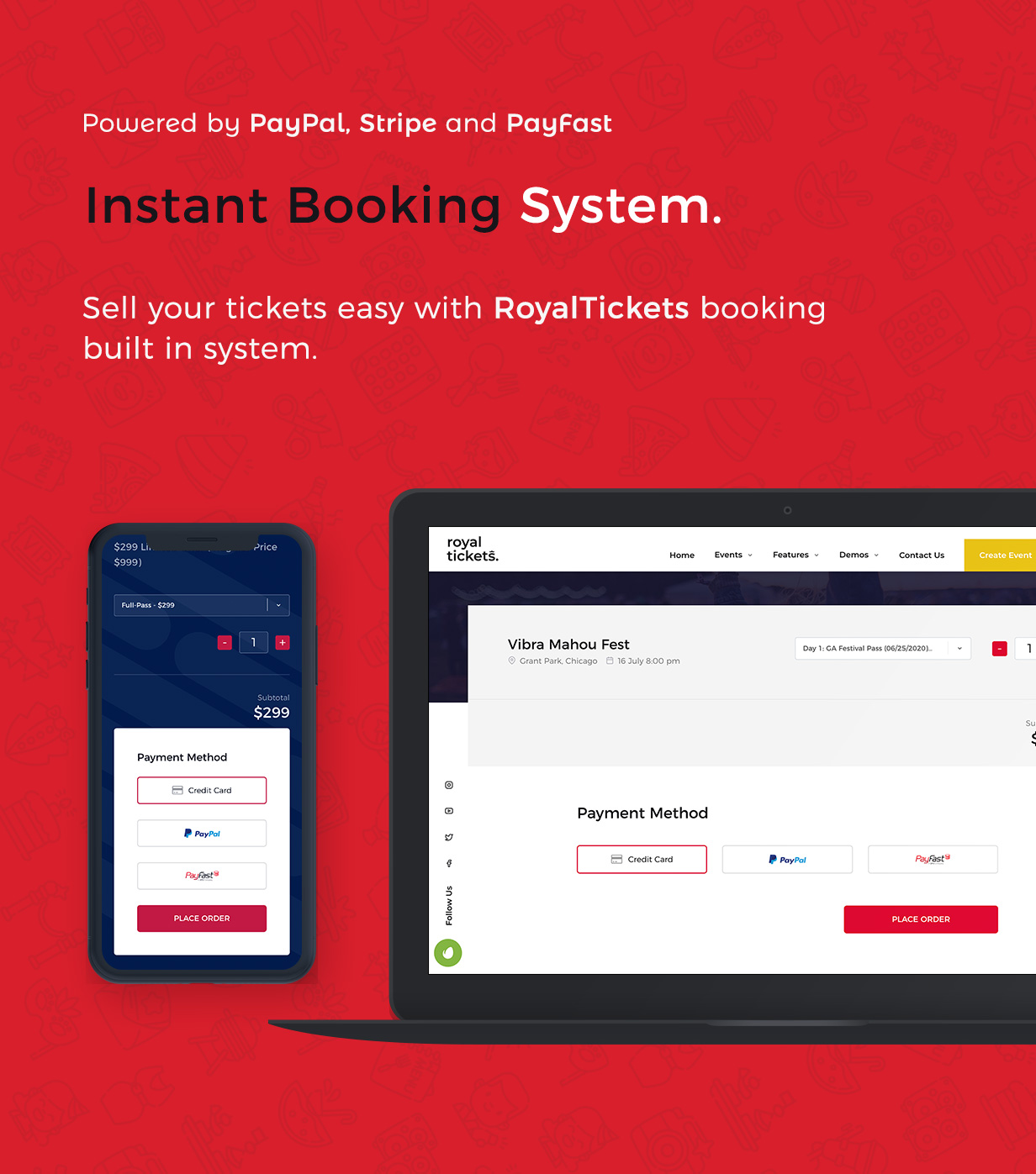 RoyalTickets - Events Booking WordPress Theme - 6