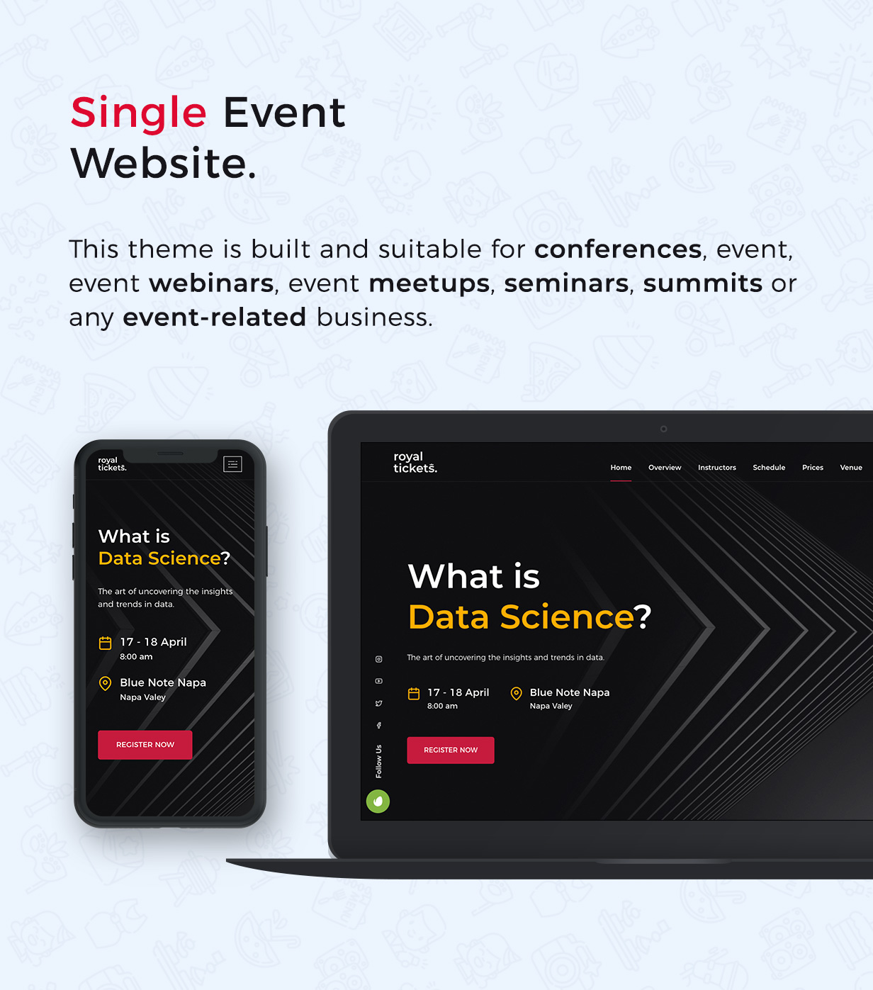 RoyalTickets - Events Booking WordPress Theme - 9